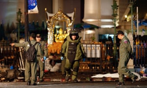 A bomb blast a Bangkok shrine in August killed 20 people and wounded more than 120.