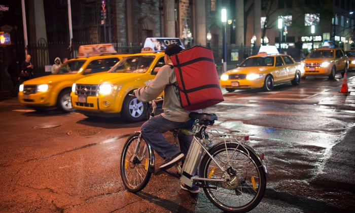 It's persecution': New York City delivery workers fight electric