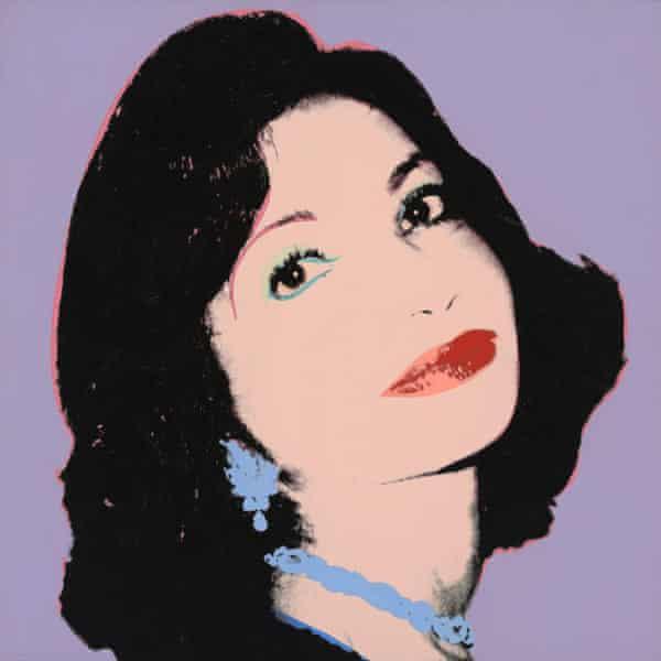 Portrait of Ashraf Pahlavi, Princess of Iran.