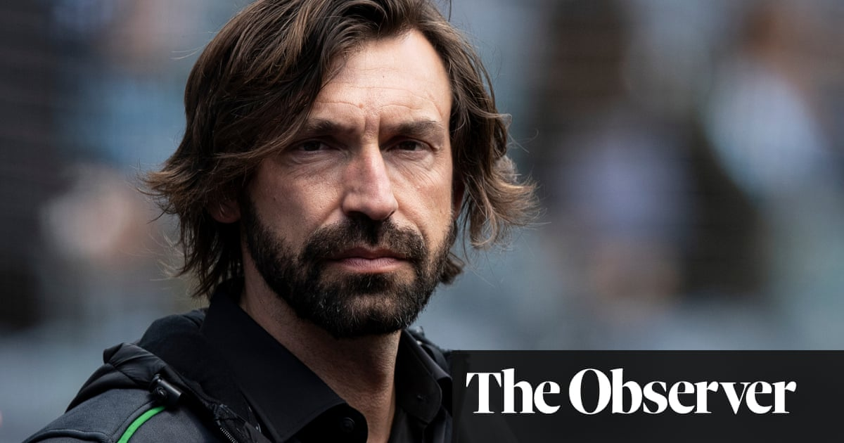 Juventus appoint Andrea Pirlo manager following Maurizio Sarris sacking