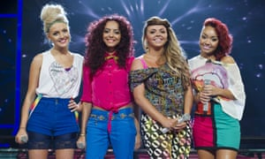 Little Mix on The X Factor in 2011.