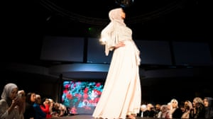 Jessica Sendi on the runway during the Mod Markit show.