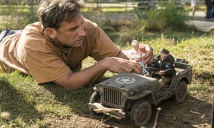 Steve Carell in Welcome to Marwen.
