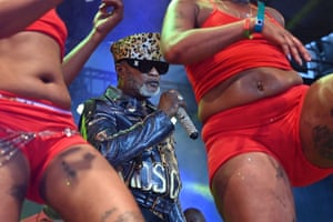 Abidjan, Ivory Coast: Congolese singer Koffi Olomide performs on stage at the Festival of Urban Music of Anoumabo