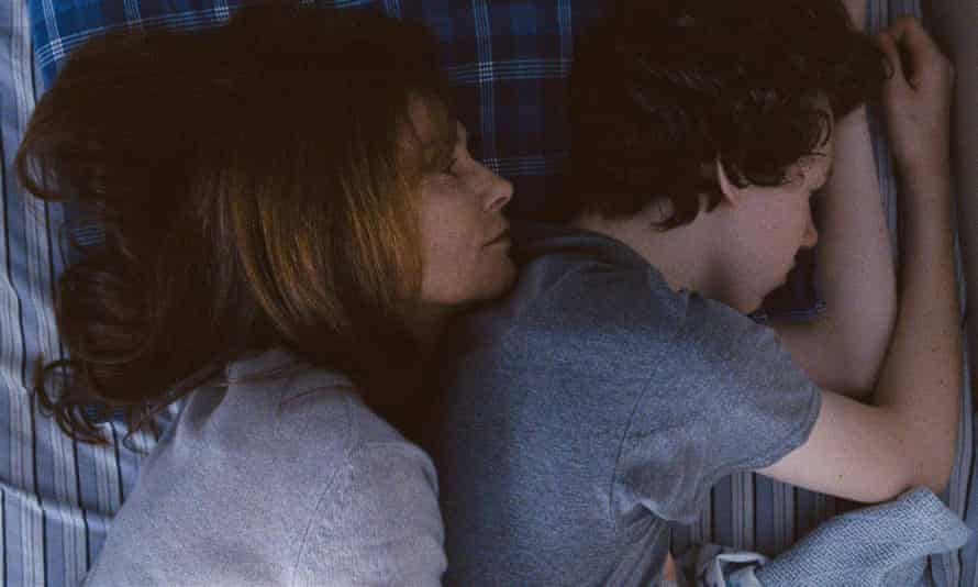 'Duplicitous life' … Isabelle Huppert and Devin Druid in Louder Than Bombs.