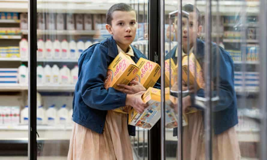 Netflix's hit sci-fi series Stranger Things.