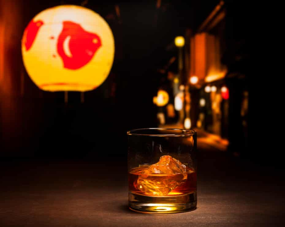 Whisky – and whisky-based cocktails – are so popular in Japan that distillers there have developed it to be well suited for being mixed with water.