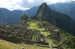 Journey's end … the Inca Trail terminate's at Machu Picchu. Unbridled growth in tourism is damaging the world heritage site and its surroundings