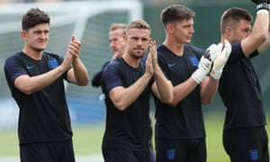 Harry Maguire and Jordan Henderson have been earmarked to start for England against Tunisia as Gareth Southgate goes for then jugular in England's World Cup opener.