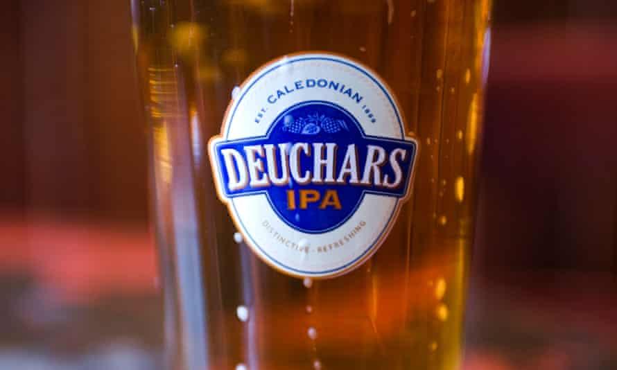 Peter Lalor bought a Deuchars IPA at the Malmaison hotel.