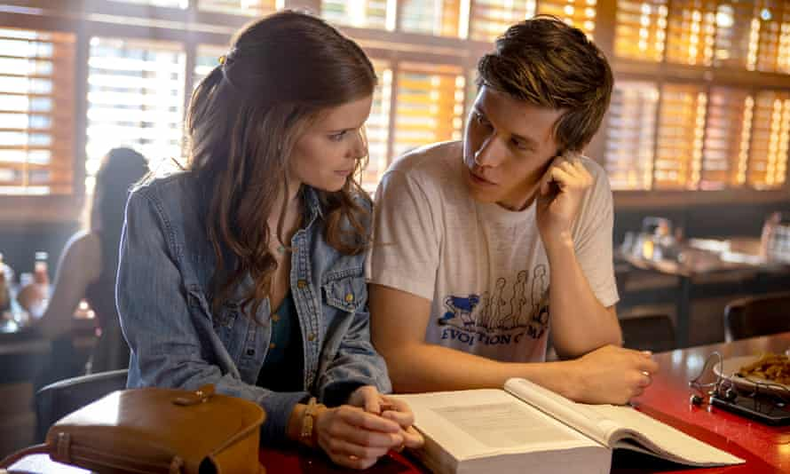 Kate Mara and Nick Robinson in A Teacher.