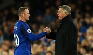 Wayne Rooney impressed as Sam Allardyce's on-field lieutenant for Everton.
