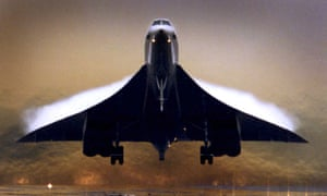 Concorde takes off from London's Heathrow airport on July 24 2000, the day before its fateful crash in Paris.