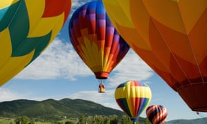 Balloons over Steamboat Springsan