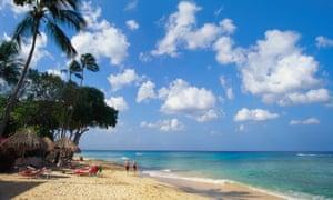 Beach at Paynes Bay, Barbados, Caribbean