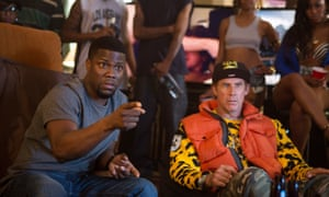 Kevin Hart, left, and Will Ferrell in Get Hard.