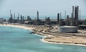 Saudi Aramco's Ras Tanura oil refinery and terminal
