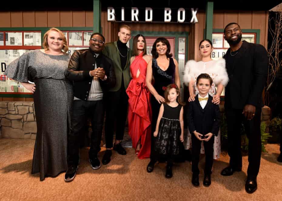 The cast of Bird Box