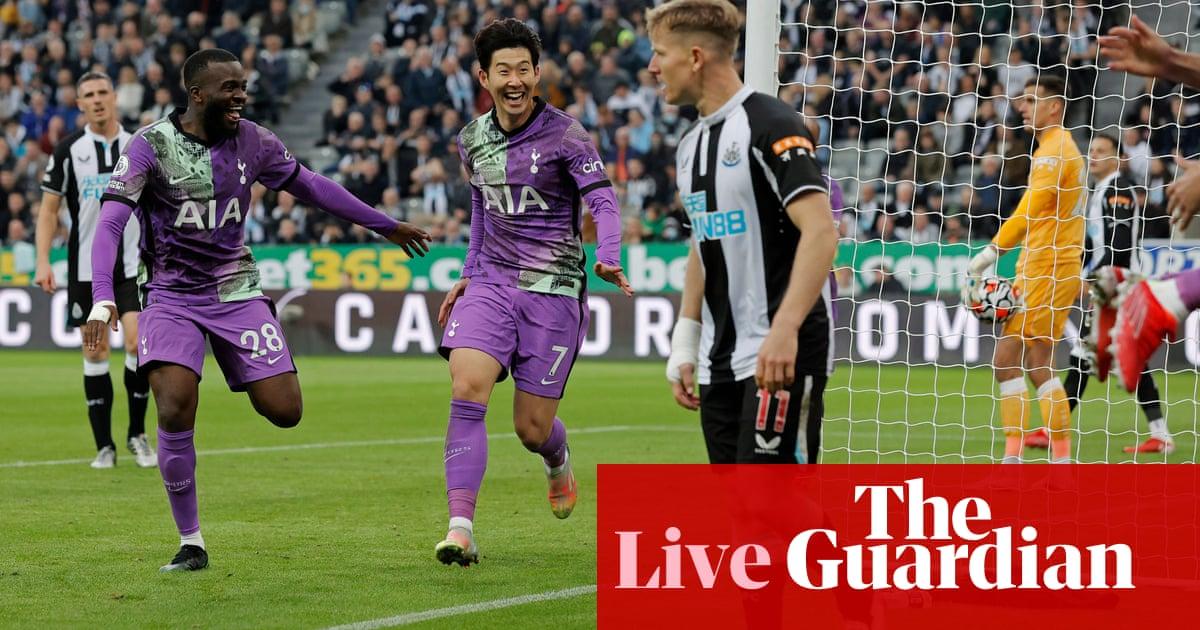 Newcastle 2-3 Tottenham: Premier League – as it happened