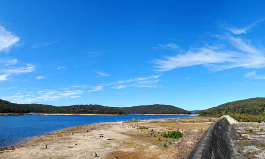 Cordeaux Dam in NSW