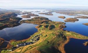 Lough Erne Resort aerial