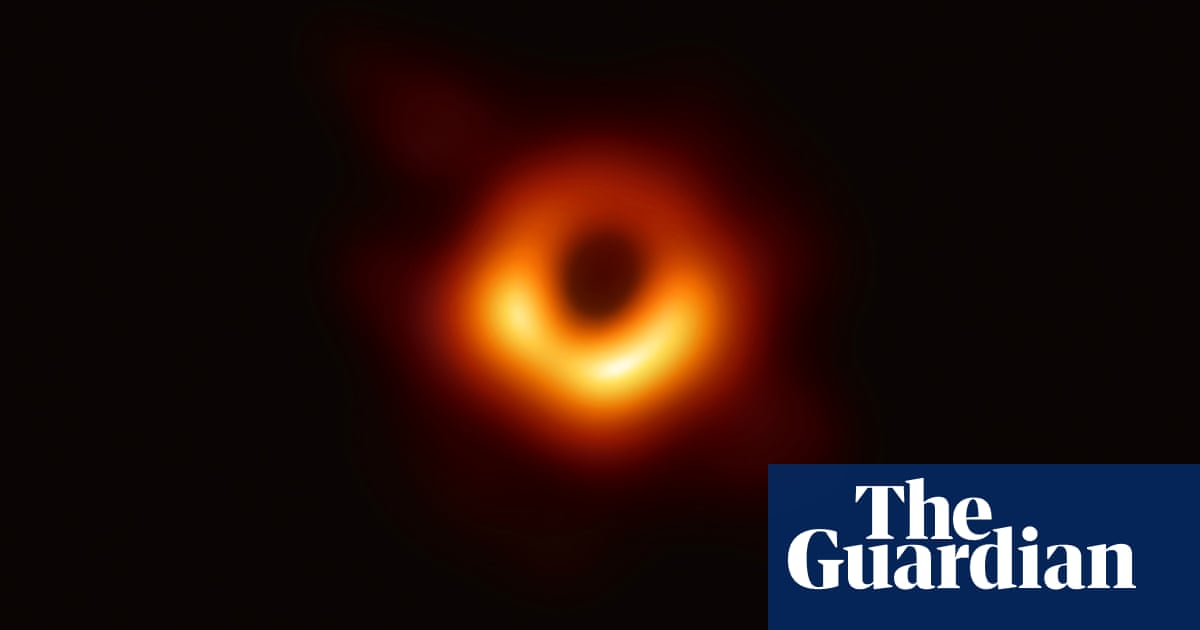 Black hole picture captured for first time in space