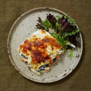 Pumpkin lasagne from the kitchen of Lello Favuzzi.