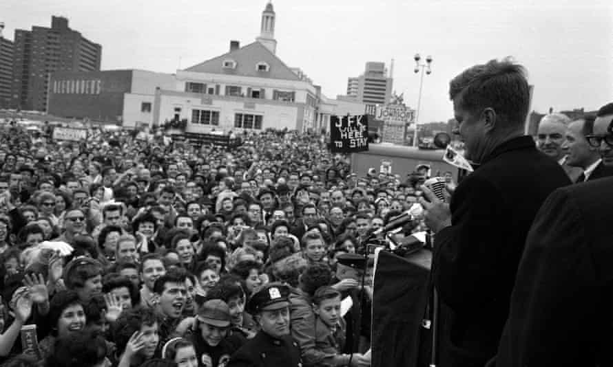 Catholicism remained an obstacle to Kennedy's White House run in 1960.