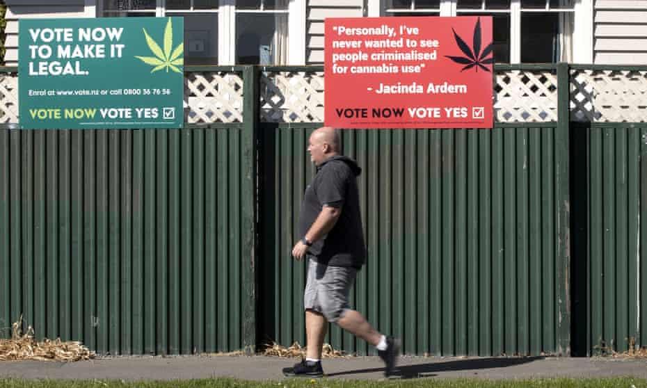 New Zealanders voted against legalising recreational marijuana in a referendum