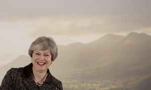 British prime minister, Theresa May, at the launch of her 25-year environment plan in London this month.