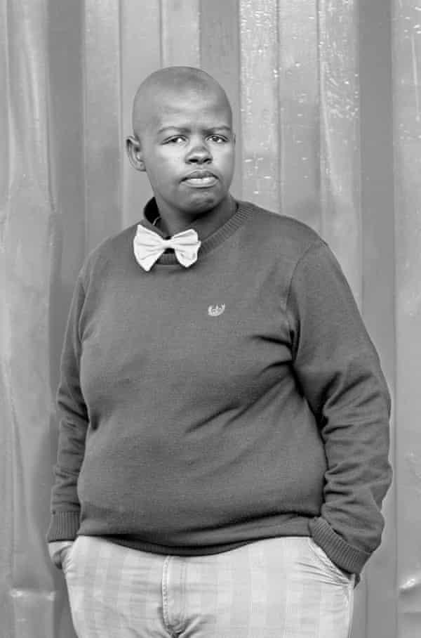 'My inner self is strong' … Lungile Cleo Dladla, KwaThema, 2011.