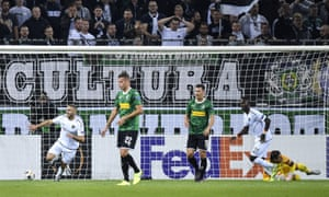 Gladbach were on the end of a Europa League hammering from Wolfsberg last week
