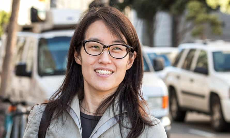 Ellen Pao, an advocate for diversity and gender equality in Silicon Valley.