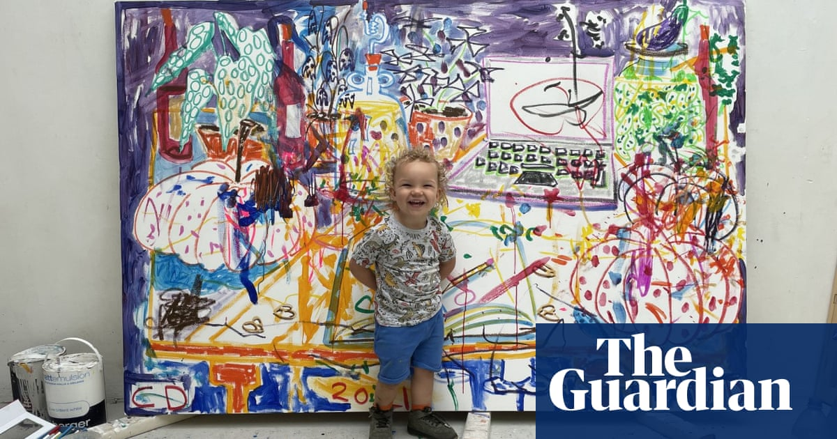 'It's not cutesy': the art show co-curated by a five-year-old