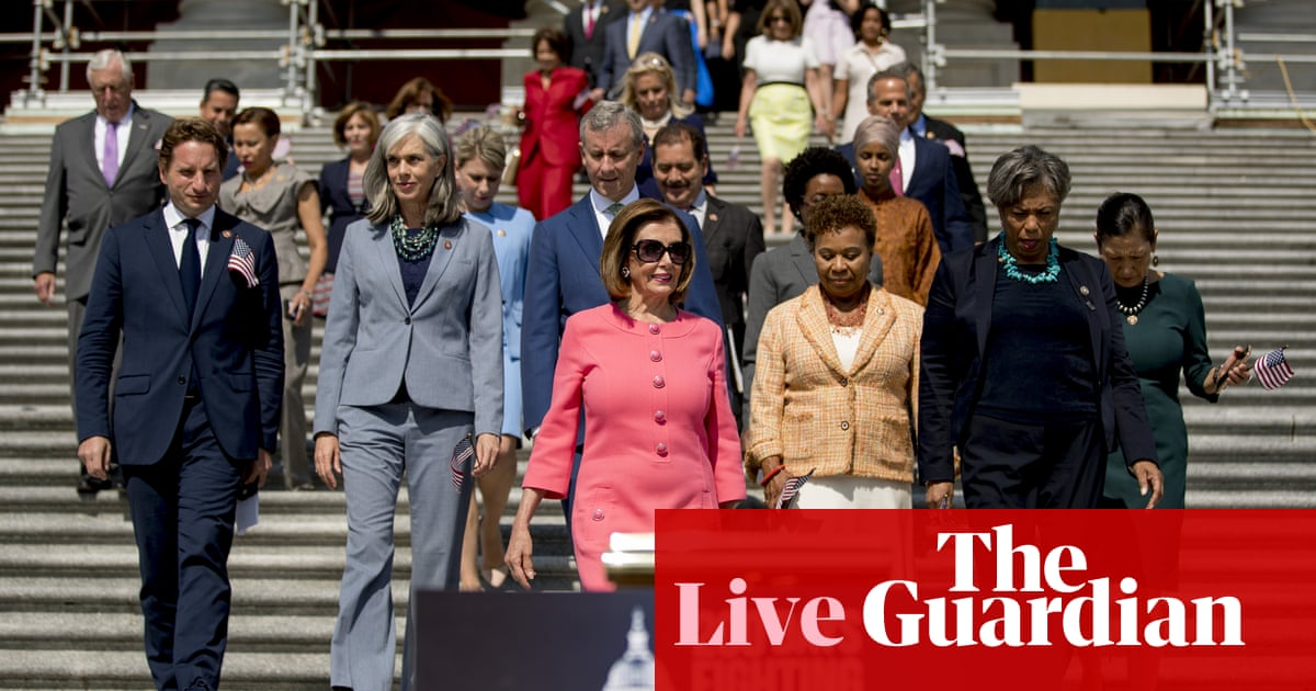 Nearly half of House Democrats now back Trump impeachment inquiry