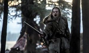 Leonard DiCaprio in the Revenant