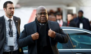 Felix Tshisekedi attends an Africa investment summit in London this month.
