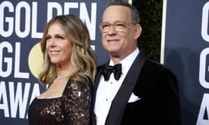 Tom Hanks and his wife Rita Wilson, whose mother is Greek.