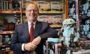 Gary Grant, owner of toy chain The Entertainer, in one of his stores.