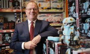 Gary Grant, founder of toy chain The Entertainer