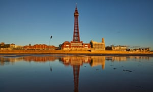 Blackpool Beach, Lancashire.