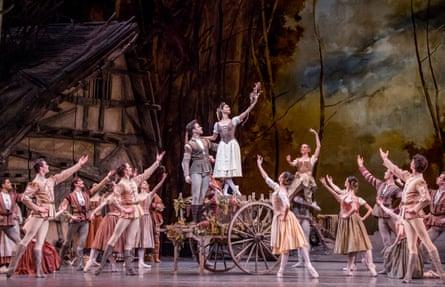 Hayward and Campbell in Giselle.