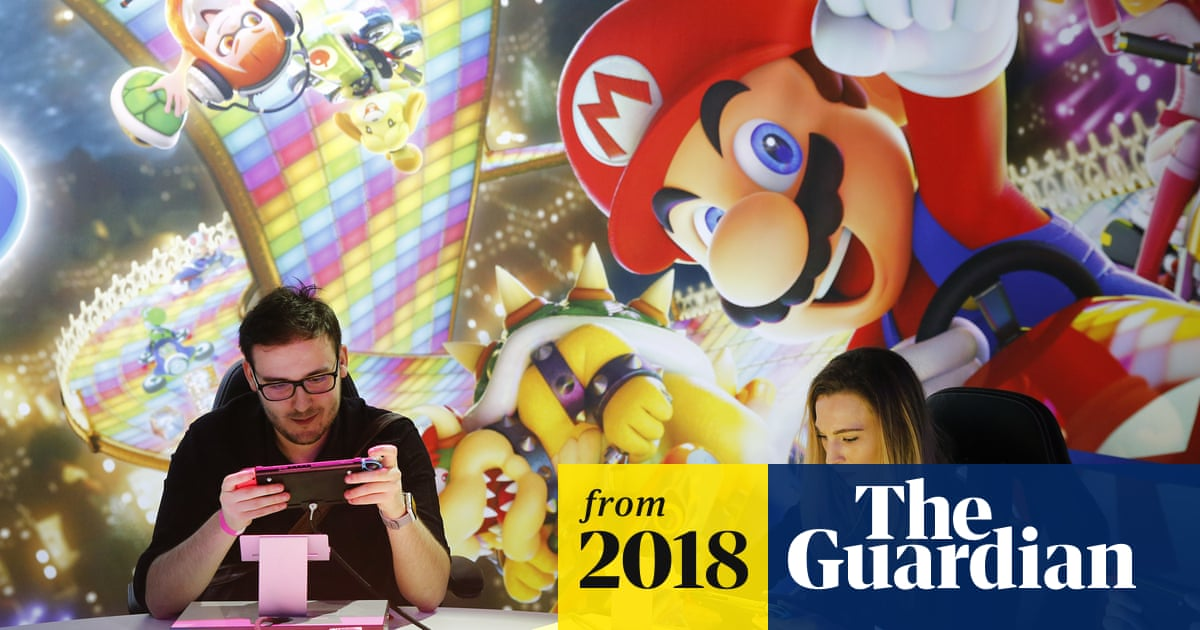UK games sales hit record £5bn thanks to Nintendo Switch and