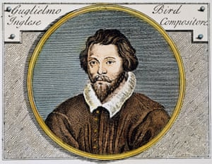 William Byrd was unable to practise his faith in public.
