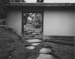 Stepping-stones from the Imperial Carriage Stop to the Gepparo, Katsura Imperial Villa, 1954.