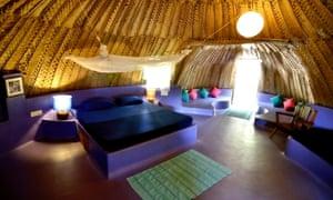 Yab Yum dome interior