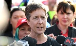 Australian Council of Trade Unions (ACTU) secretary Sally McManus.