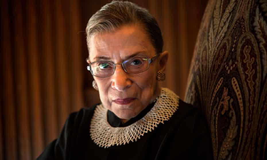 Ruth Bader Ginsburg in 2013.