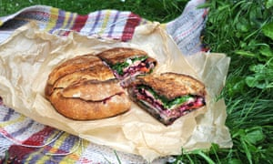 Like a sandwich, but more so: ClaireTweet's winning muffuletta recipe is perfect for picnics.