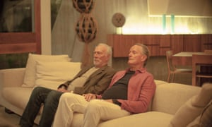 Christopher Plummer and Fonda in one of his final roles in the film Boundaries